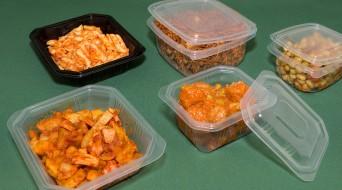 Envasos pp microones per a plats cuinats