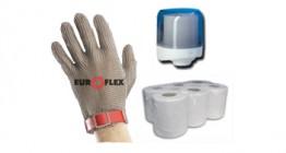 Consumibles para protección e higiene