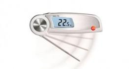 Termómetros, medidores de ph y calidad del aceite
